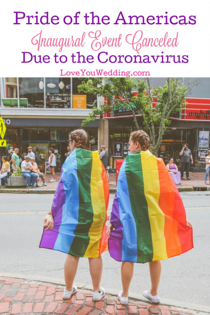 If you planned on attending the Pride of the Americas event in late April, you'll want to read this. The event has been canceled due to coronavirus.