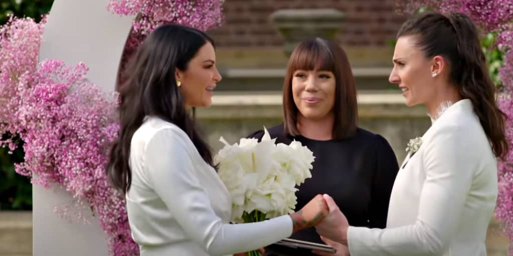 Married at First Sight: Australia offered viewers a peek at what's to come, including a touching lesbian wedding. Check out the full story!