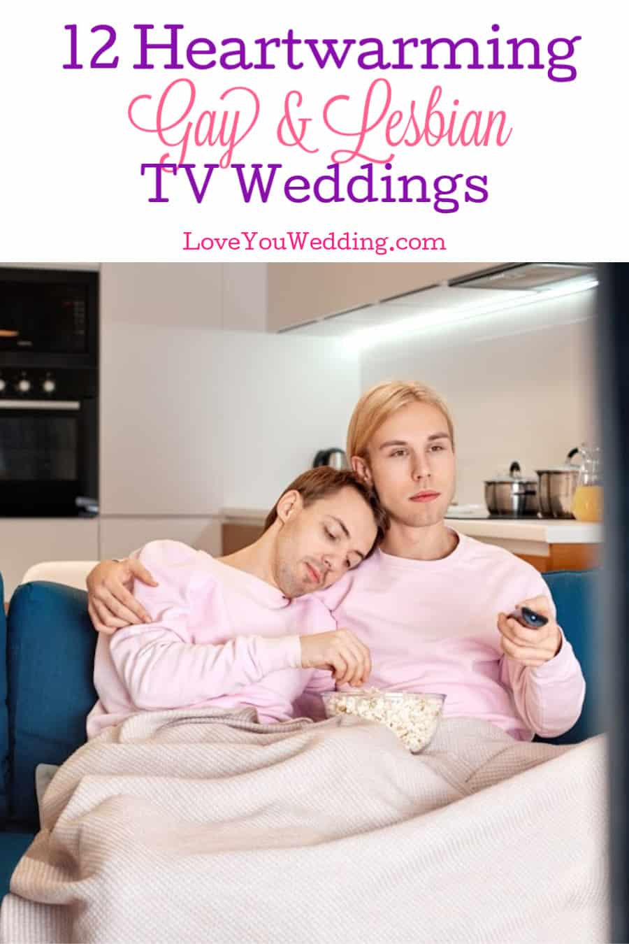 If these touching gay and lesbian TV weddings don't melt your heart, then I don't know what will! Take a look!