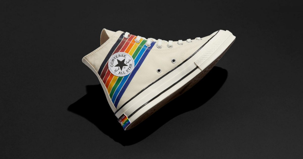 In honor of Pride Month, Nike unveiled their new 2020 BeTrue Collection. Get a sneak peek at the lineup, including the Converse Pride Collection