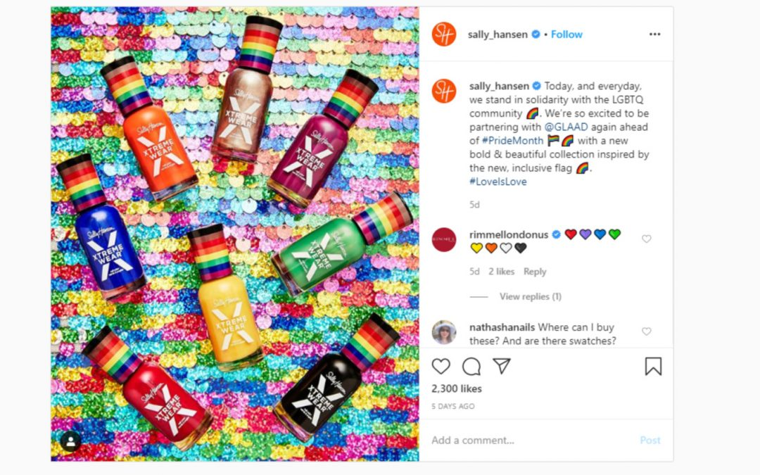 Sally Hansen Launches Gorgeous New Pride Collection Inspired by a More Inclusive Flag