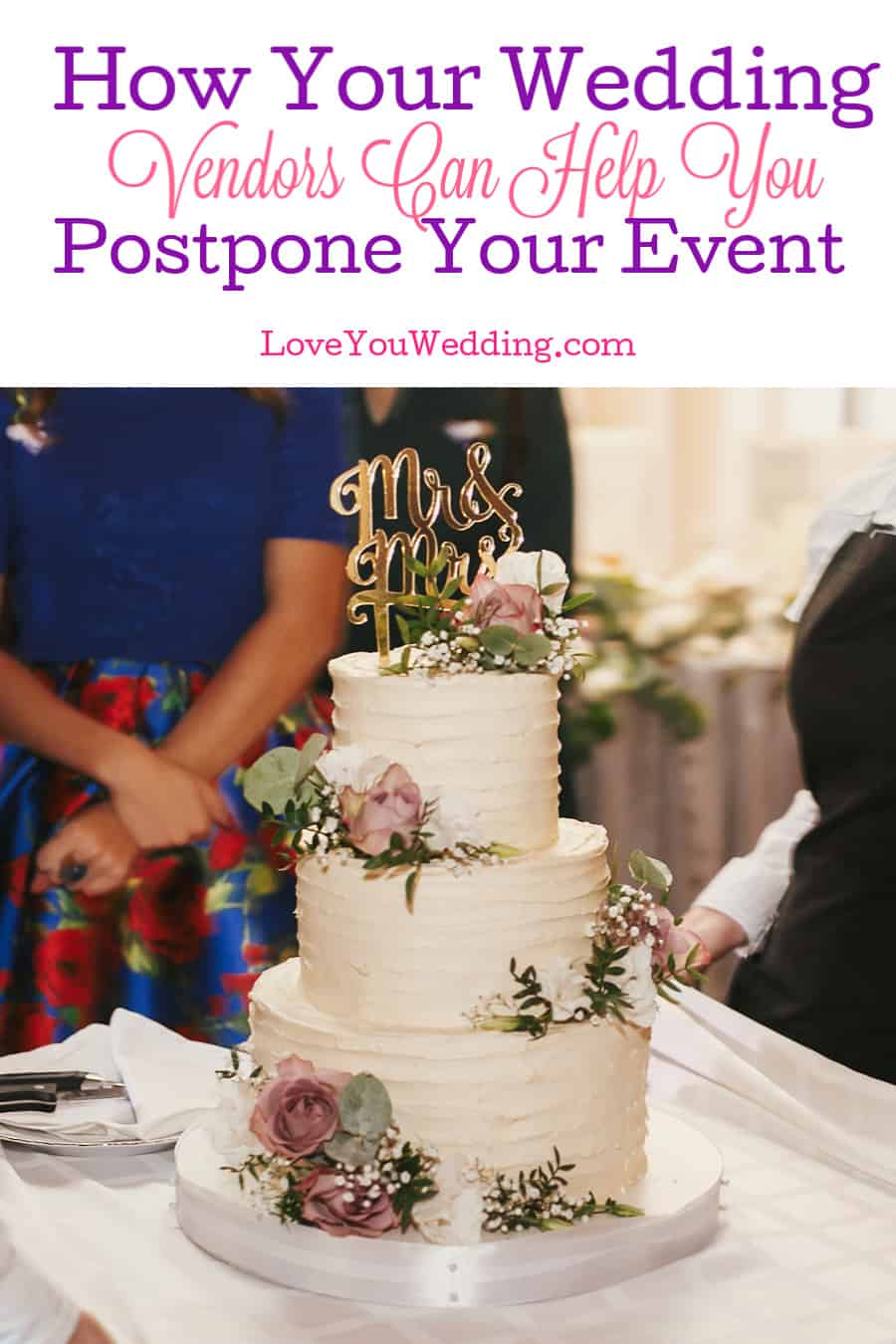 Knowing how to postpone a wedding is essential given current events. Find out how your vendors can help make it a lot easier on you!