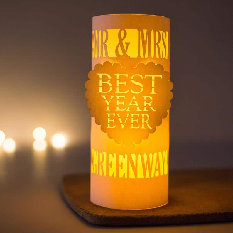 Best year ever lantern