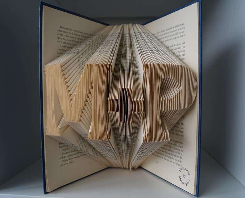 personalized folder book art