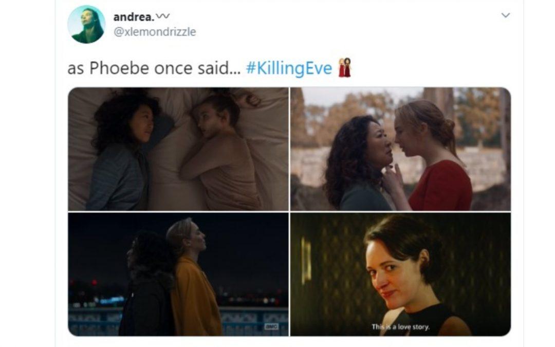 11 Killing Eve Fan Tweets That Bring Lesbian Romance to a New Level
