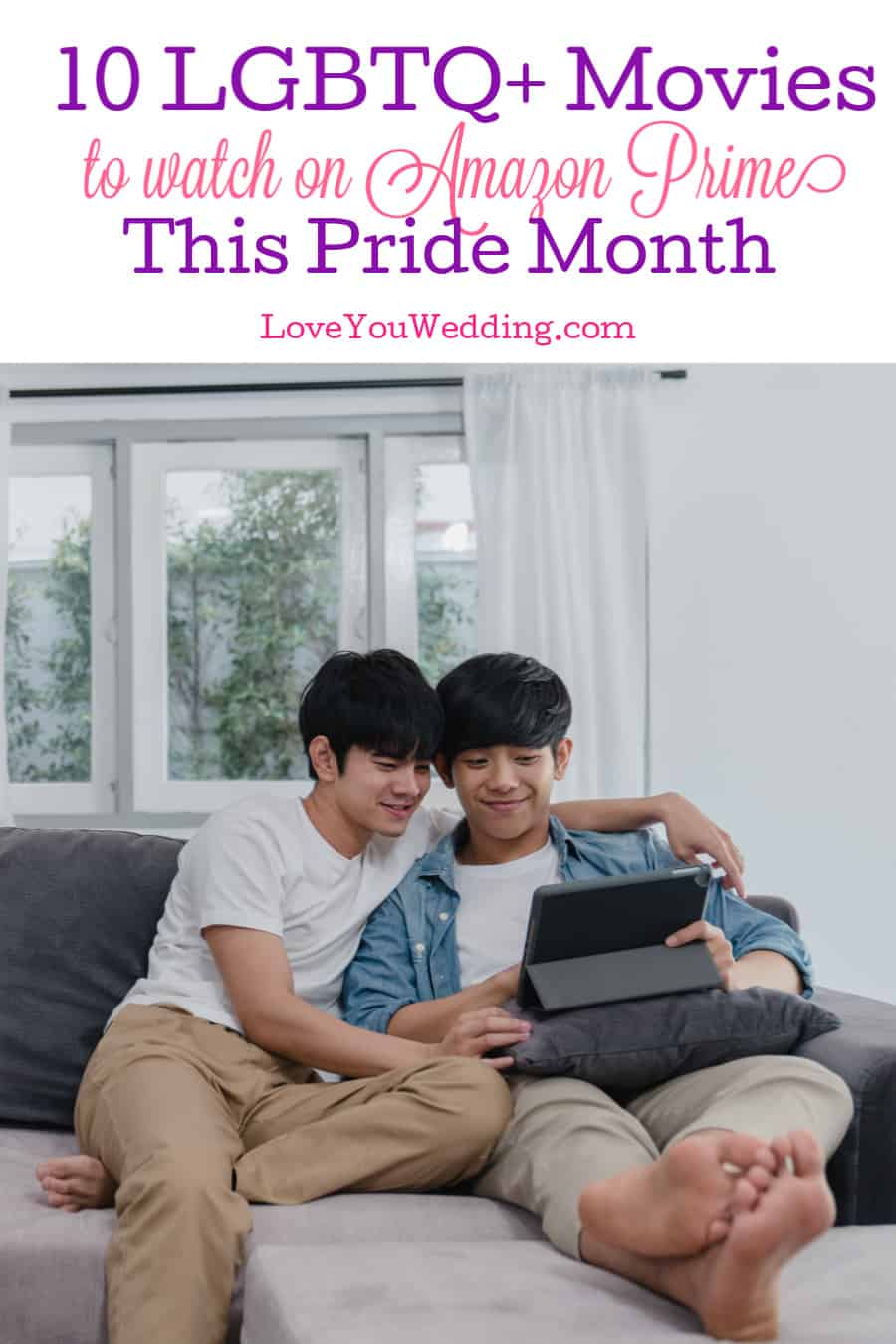 If you have Amazon Prime, you have access to some of the best LGBTQ+ movies ever made.Take a look at 10 to watch free or rent during Pride Month!