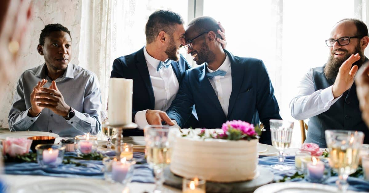 Two grooms are better than one, and these touching photos of real gay couples prove that. They'll melt your heart! Take a look!