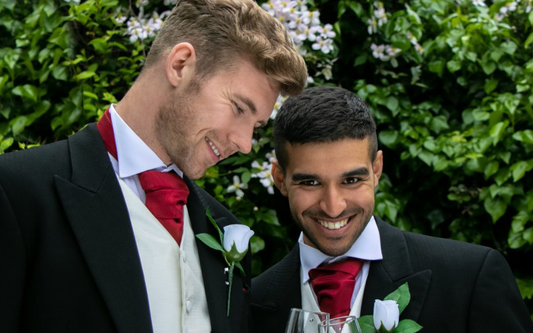 12 Two Grooms Are Better Than One Wedding Moments That are Perfect for Pride Month