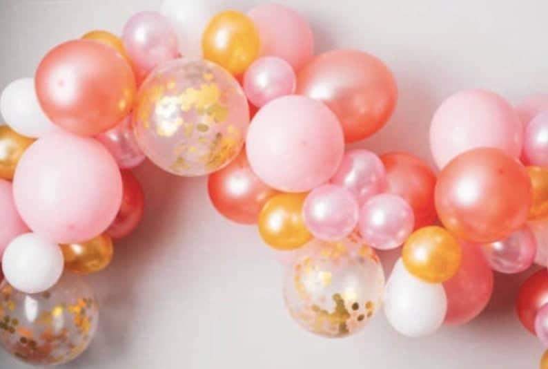 wedding arch garland ideas balloons