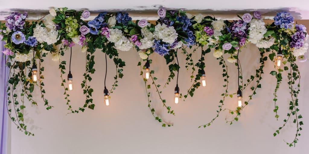 wedding arch garland ideas