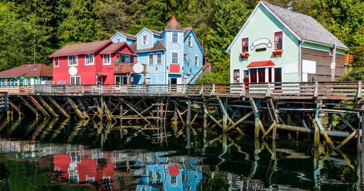 Ketchikan Alaska where lawmakers recently passed a bill protecting the LGBTQ community