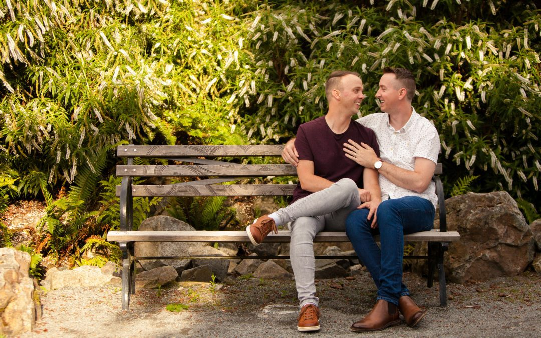Aaron & Kyler: A Love Story Worthy of Its Own RomCom (Their Engagement Photos Are Divine!)