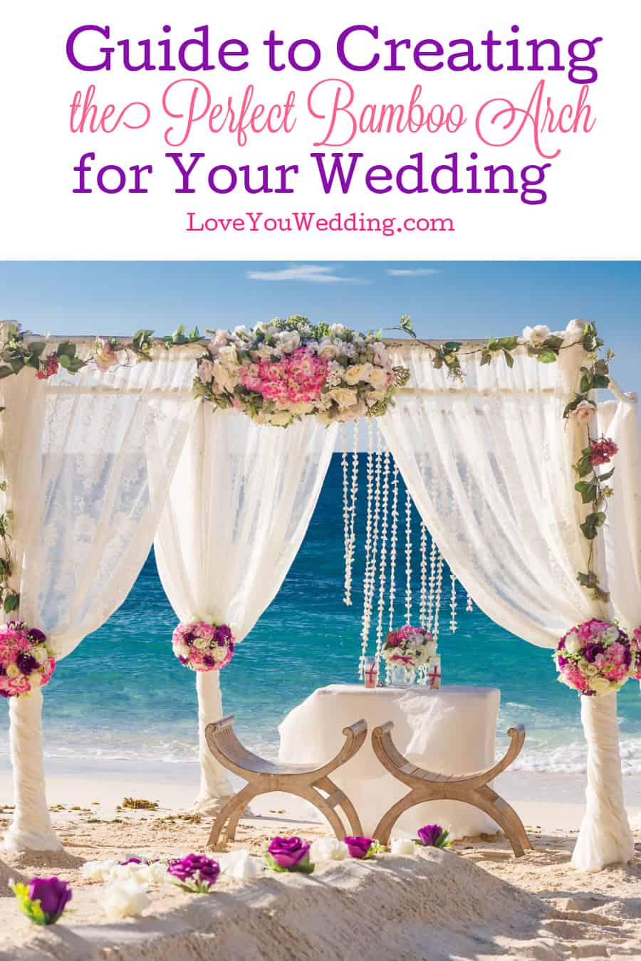 Looking for a great versatile decor idea that is both rustic and elegant, earthy and ethereal? Let is introduce you to the bamboo arch for your wedding!