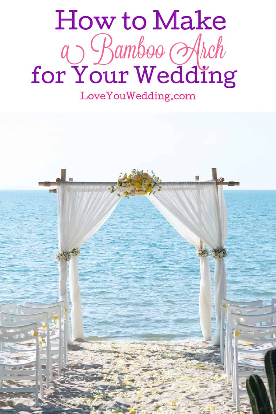 Want to make a beautiful bamboo arch for your wedding? Check out these fabulous tutorials!