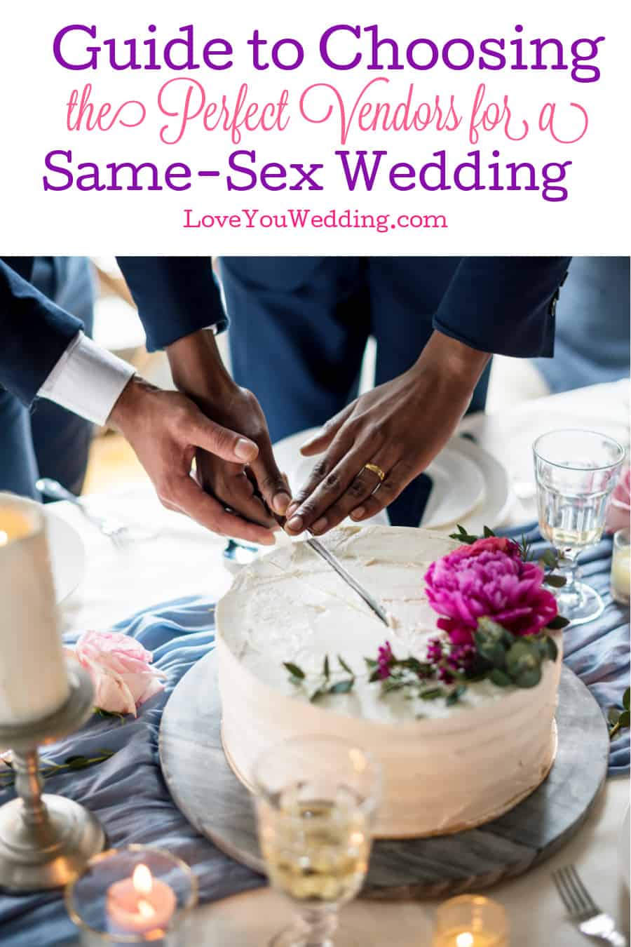 Need some help choosing LGBT-friendly wedding vendors? Check out our guide with all the essentials to finding the right people to make your big day special.