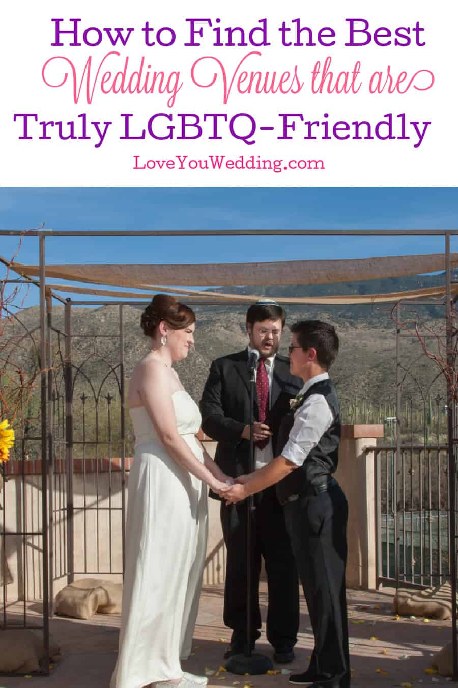 Need to know how to find the best LGBTQ-friendly wedding venues? Take a look at our handy guide with tips and tricks to try!