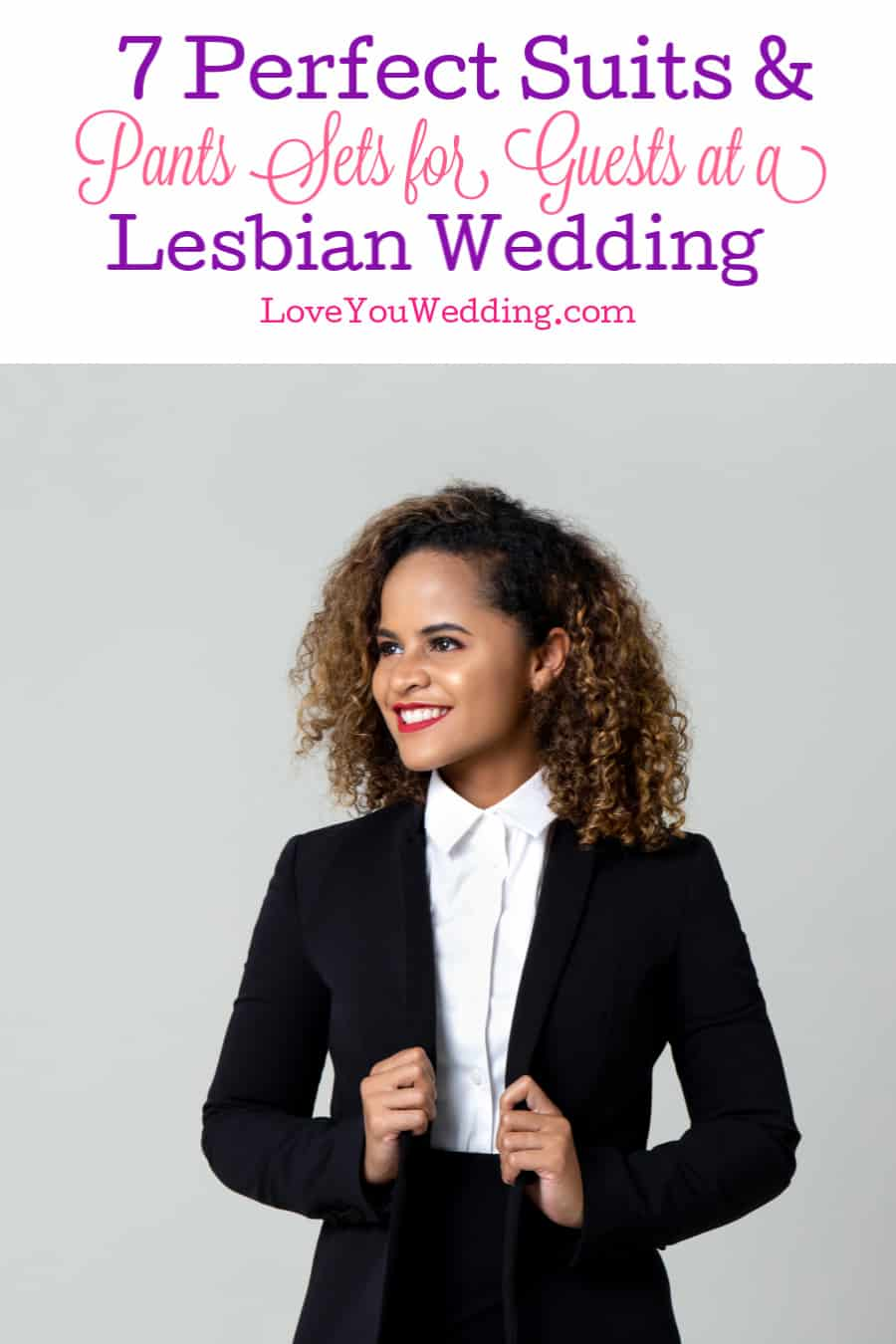 Lesbian wedding guest attire only has one rule- follow the dress code set by the couple. That said, we've got some great ideas you may love. Take a look!