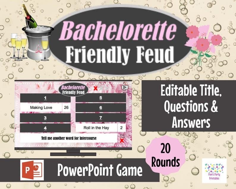 Virtual Game Bachelorette Party Battle Wedding Bridal Shower | Etsy