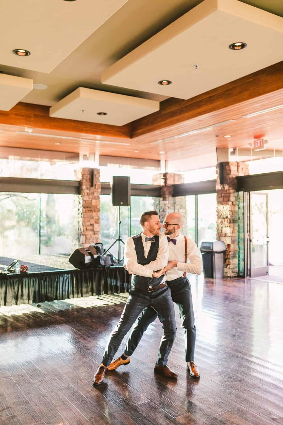 burke and malachi gay wedding reception dance