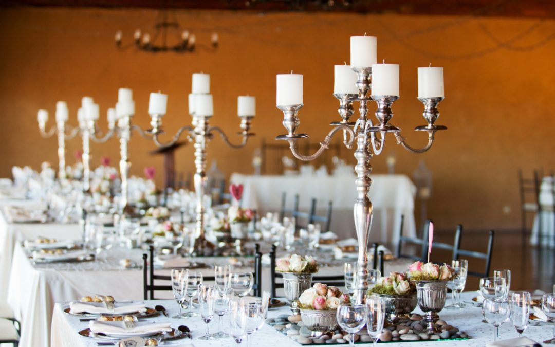 How to Find & Style Stunning Candelabras for Weddings