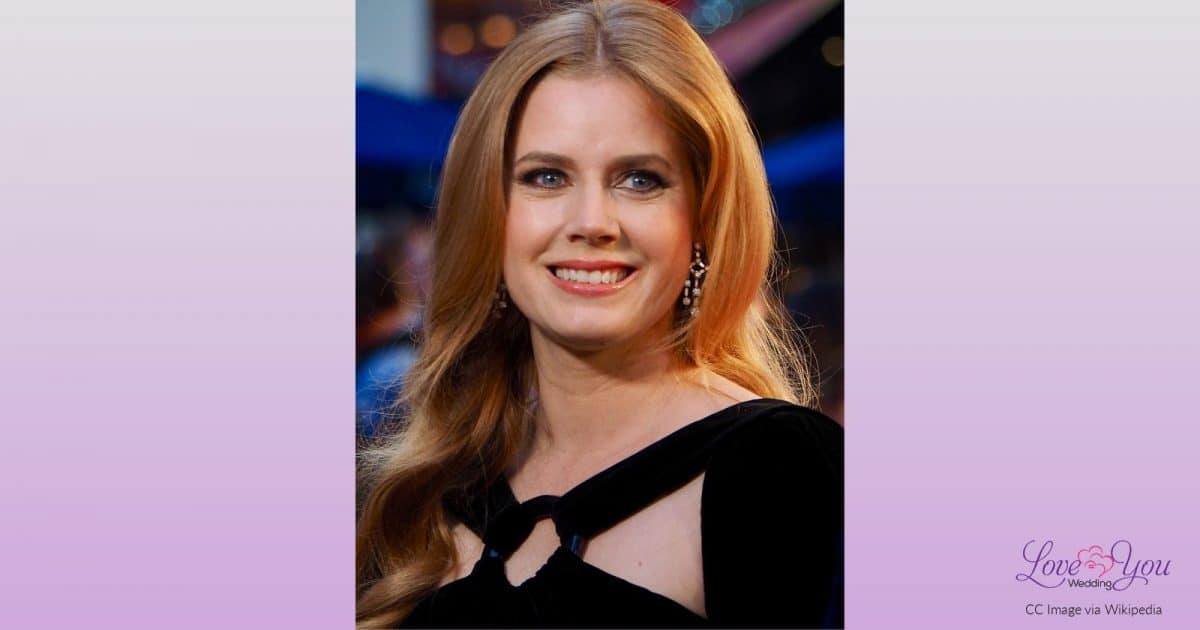 Amy Adams is one of the Celebrities Who Were Raised By LGBT Parents