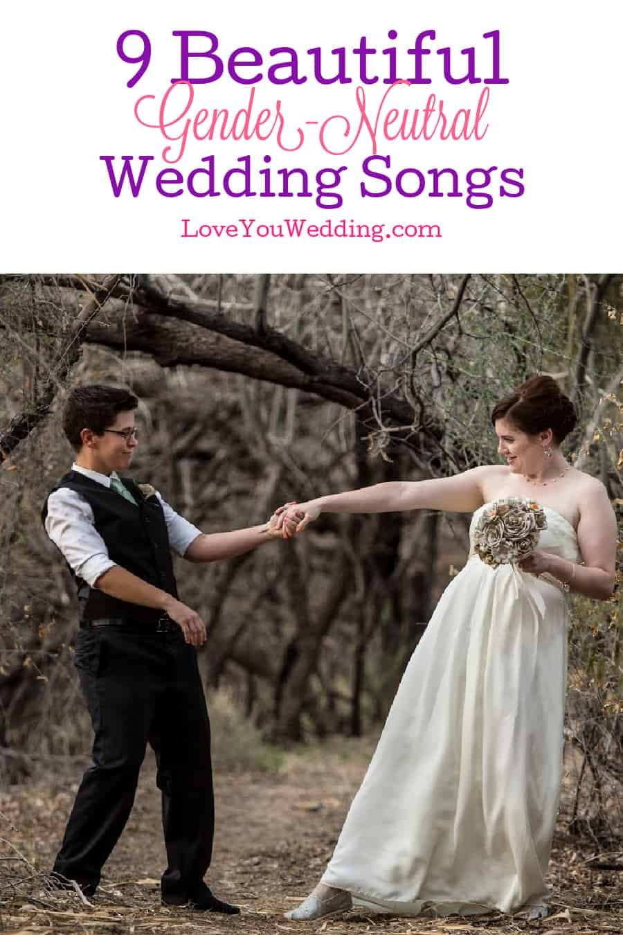These 9 gender-neutral wedding songs beautifully express the depth of your feelings for each other! Check them out!