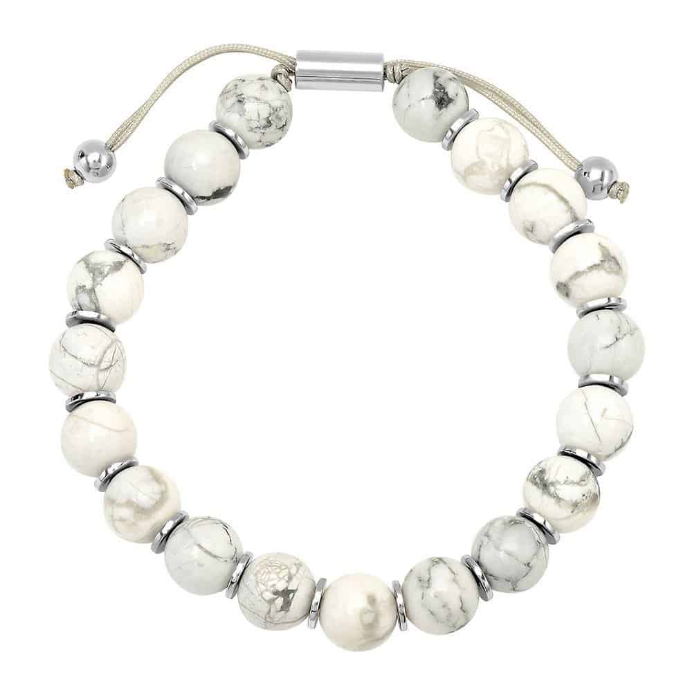 Howlite Bolo Bracelets