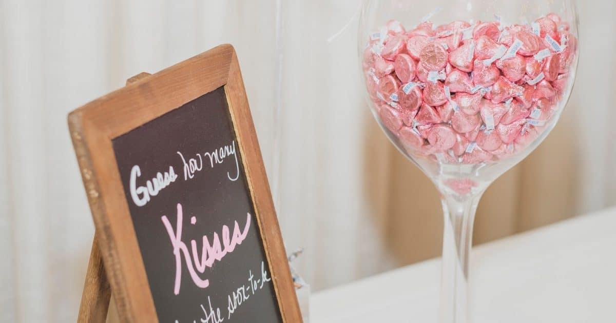 Bridal Shower Kisses Game