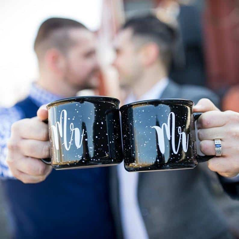 last minute wedding anniversary ideas for him coffee mugs