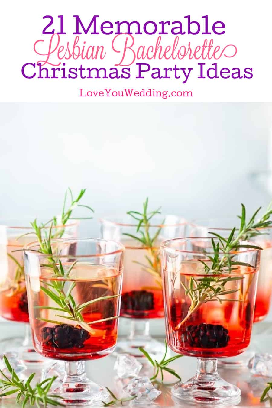 Host a Christmas lesbian bachelorette party that your guests will remember for all the right reasons). Check out 21 ideas to help you!