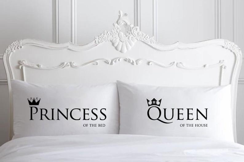 Princess And Queen Pillowcases