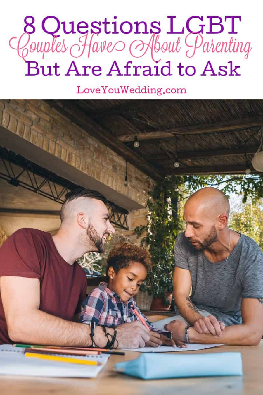 We're tackling some questions that LGBT couples have about parenting but may be too nervous or scared to ask. Take a look!