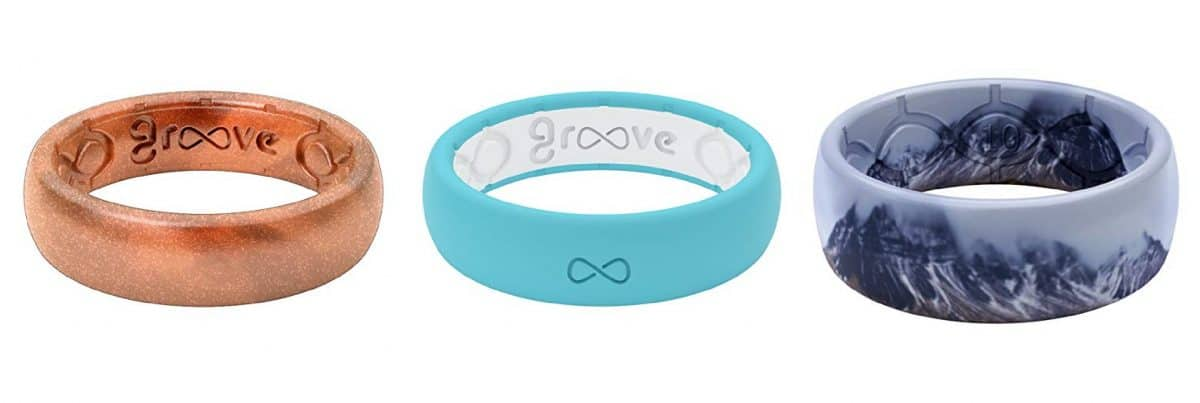 Groove Life Silicone Rings