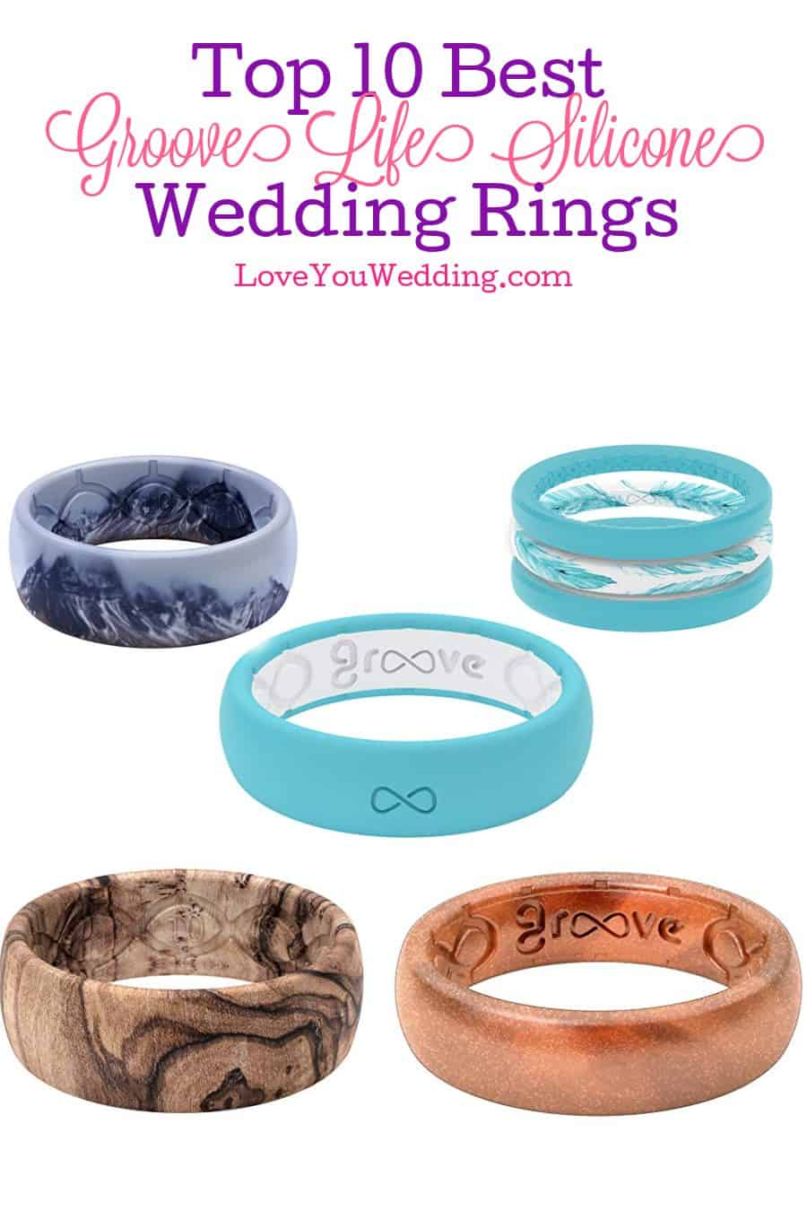 If you're looking for the best Groove Life silicone rings to use for a wedding band, you're in for a treat! Check out 10 we love!