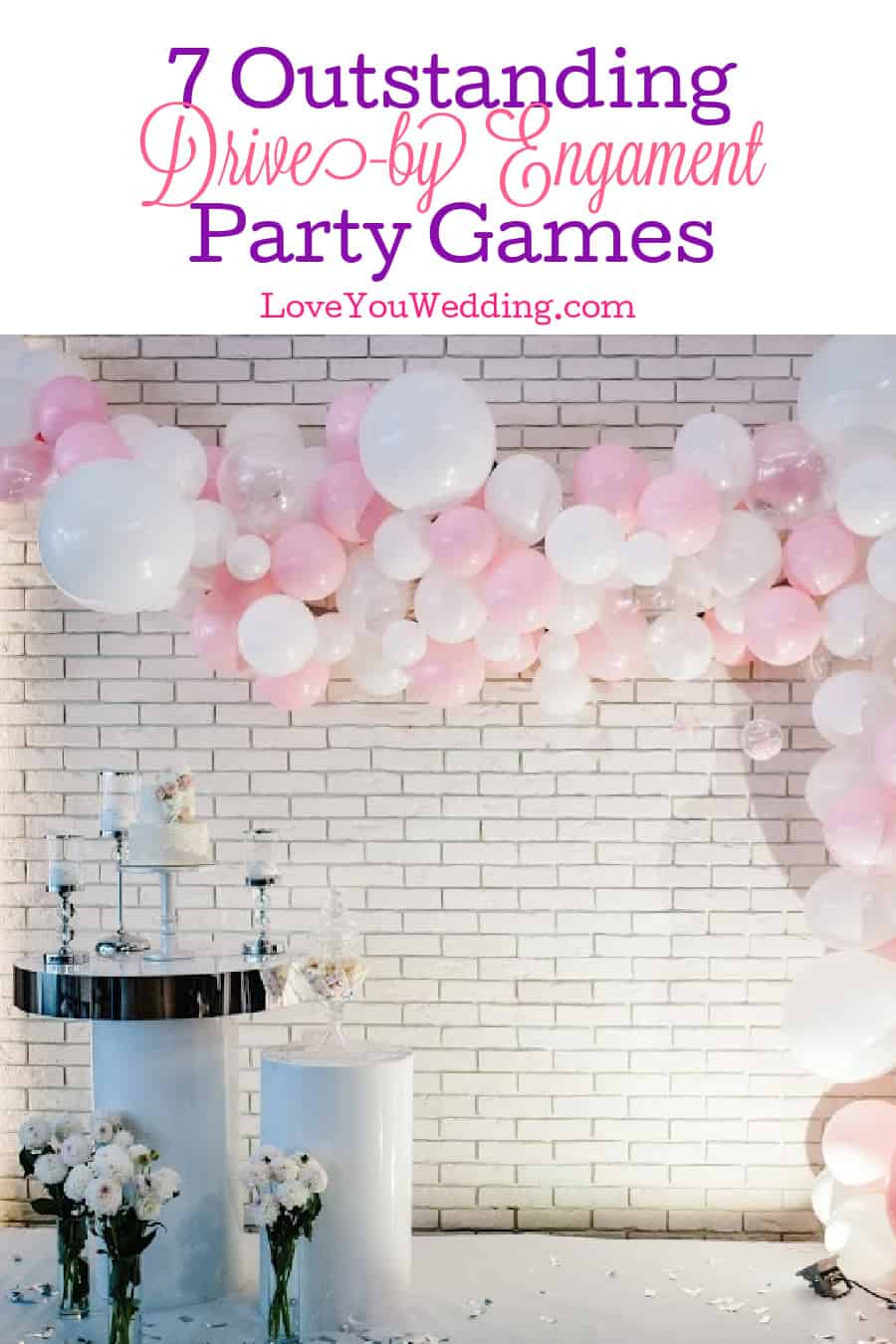 Finding clever drive-by engagement party games is definitely a challenge! Don't worry, we've got you covered! Check out 7 that we love!