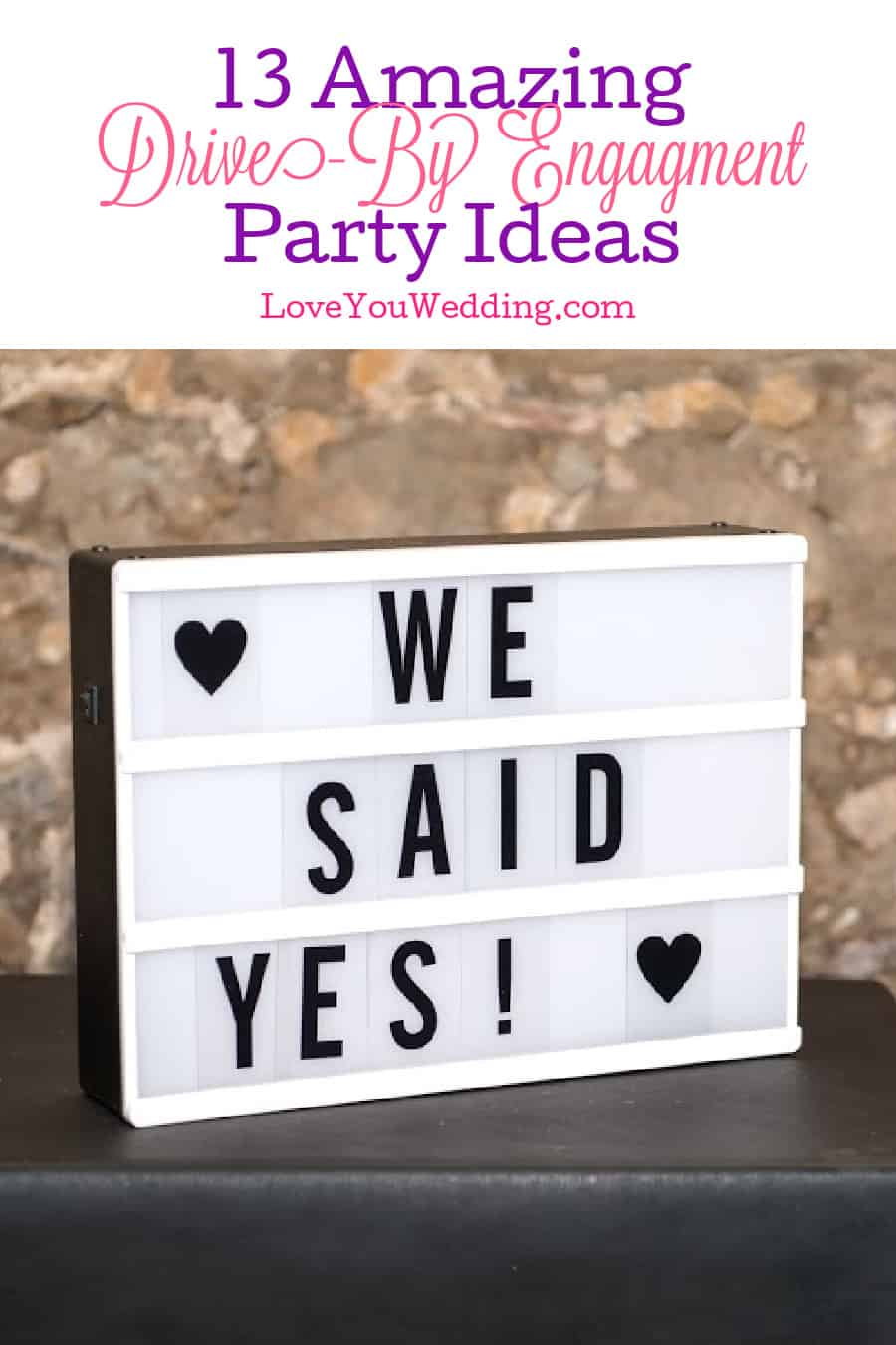 If you're looking for some awesome drive-by engagement party ideas, we've got you covered! We're talking themes, decor, favors and more!