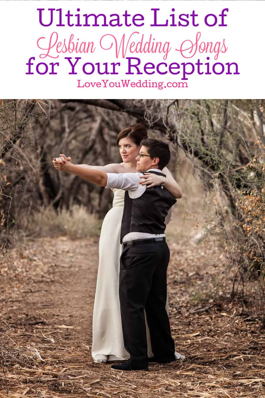 This list of lesbian wedding songs will have you covered from your walk down the aisle to the very last dance of your reception!