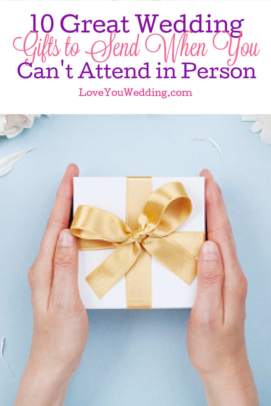 Do you need to send wedding gifts when not attending? If so, what are some great ideas? Read on for the answers to both questions!