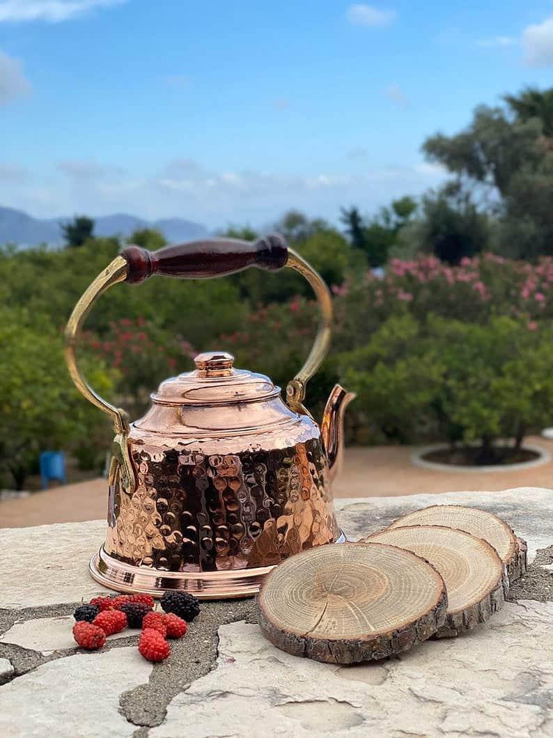 Handmade Copper Teapot
