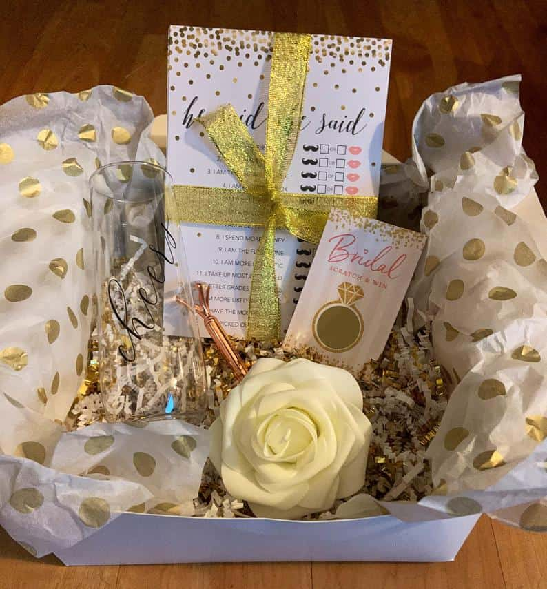 Virtual Bridal Shower Gift Box