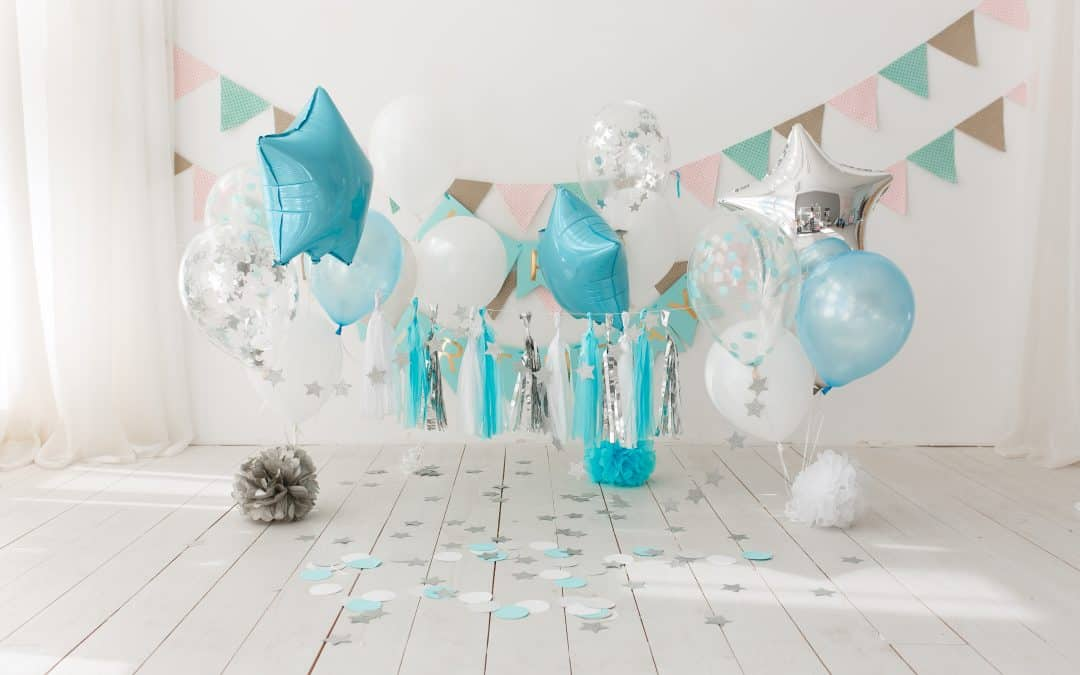 Amazing Virtual Bridal Shower Party Food And Decorations (+ Free Zoom Backgrounds)