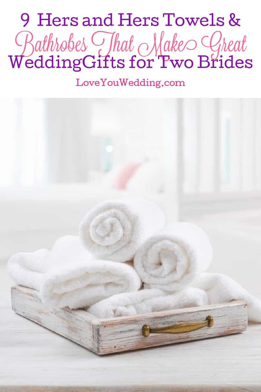 Having a hard time finding beautiful hers and hers towels and bathrobes? Don't worry, we've got you covered! Check out 9 we love!