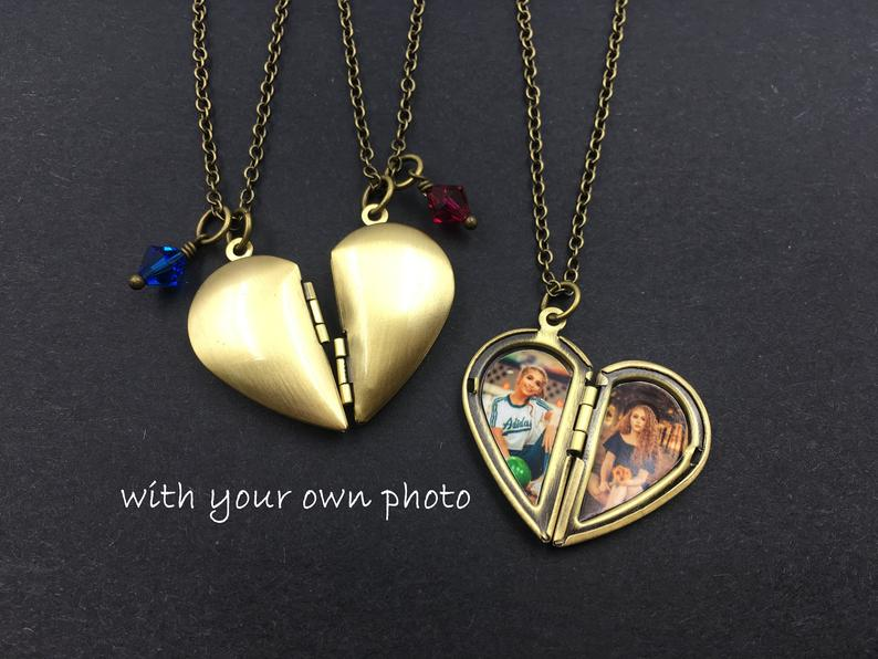 Couple's Locket his and his necklaces