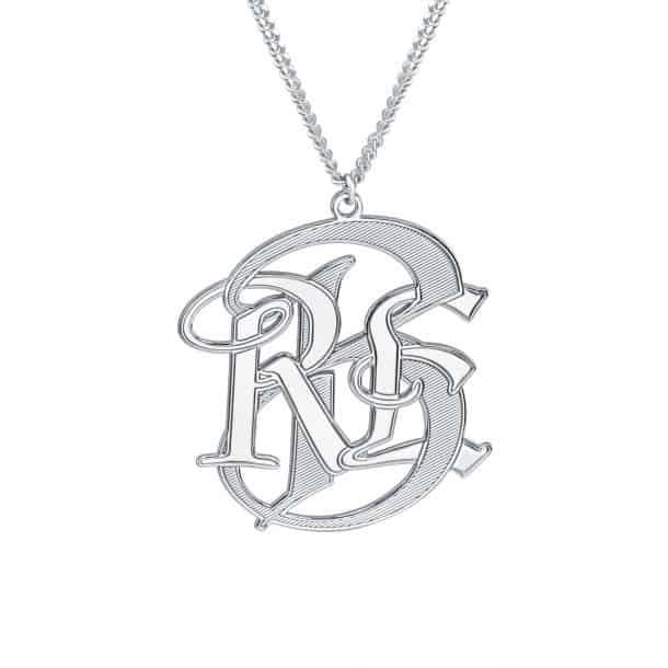 Alison and Ivy Men's Monogram Necklace