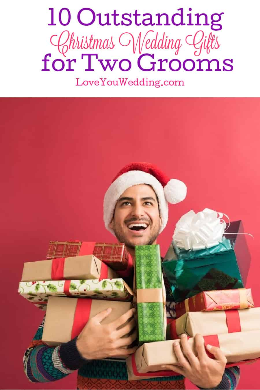 On the hunt for some outstanding Christmas wedding gifts for two grooms? Come join us! We found 10 ideas that will warm their hearts!