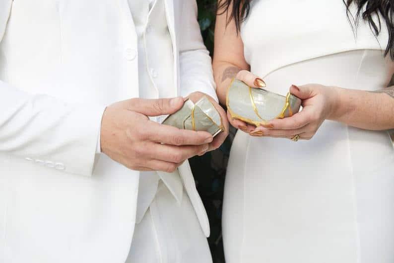Newlyweds Kit: Japanese Kintsugi Ceremony with Online Course