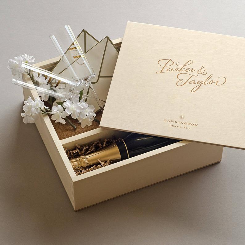 Keepsake Ceremony Wine Box