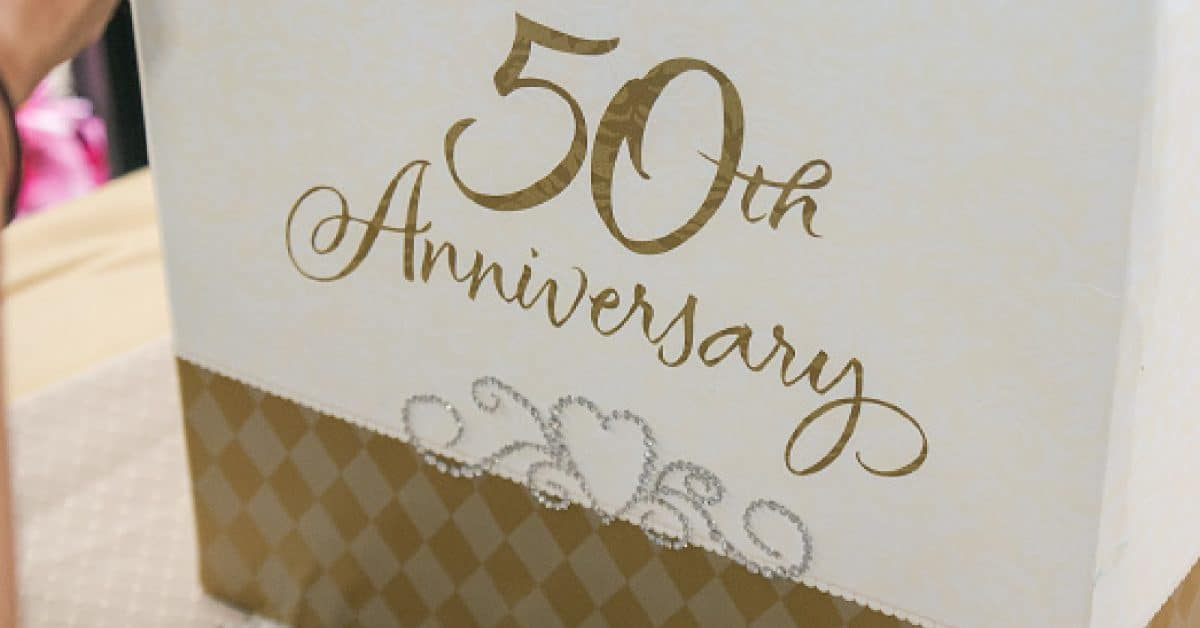 50th Wedding Anniversary gifts for gay and lesbian couples