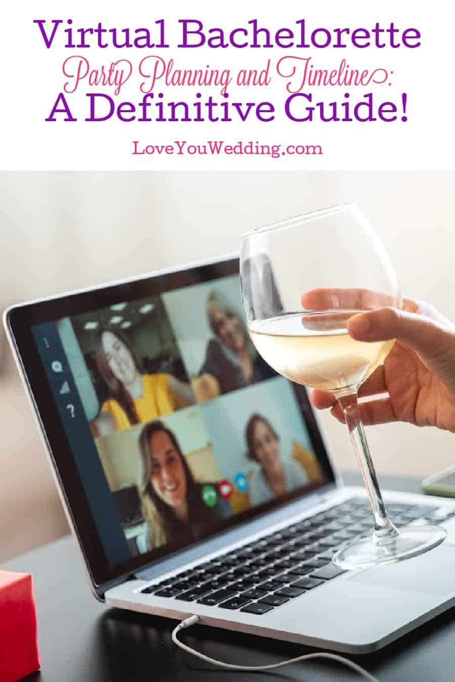 Looking for tips for planning and a timeline for a virtual bachelorette party? We've got you covered! Check out our complete guide!