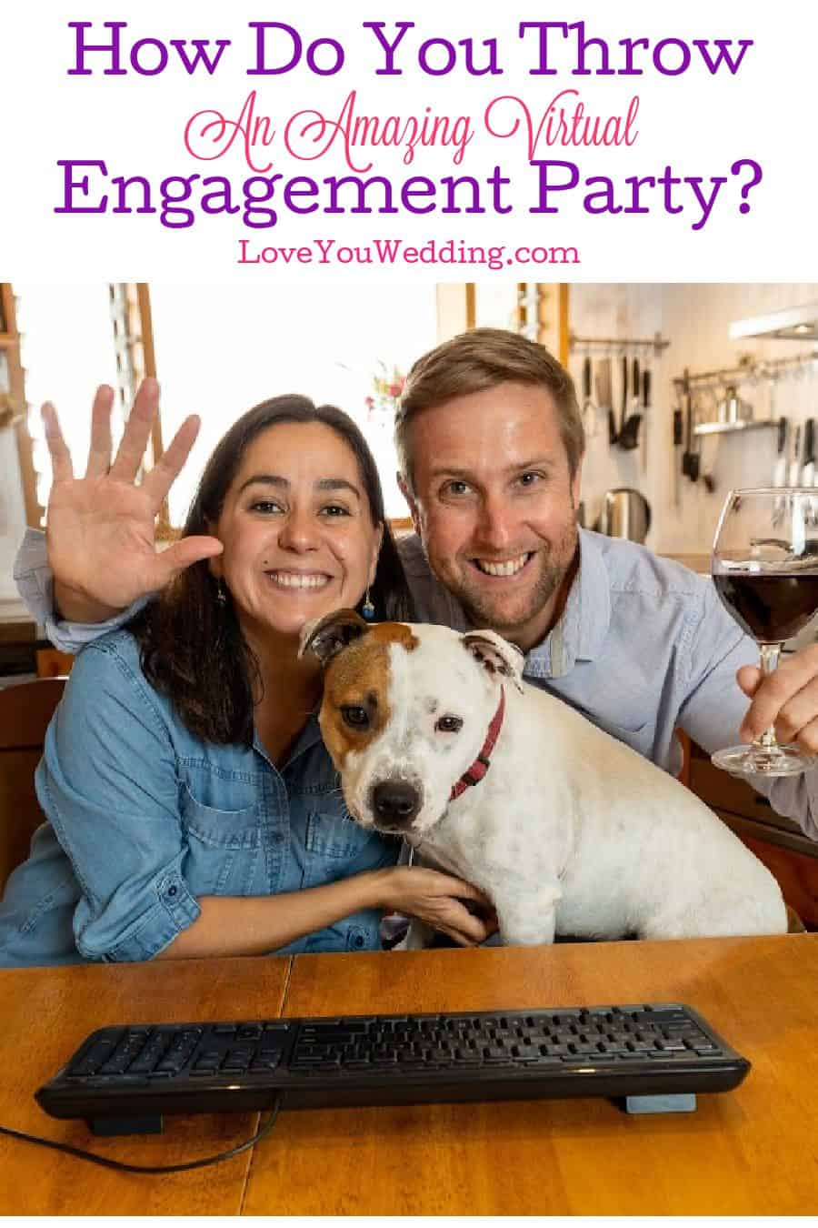 If you're looking to throw a killer virtual engagement party, then you may want to take a look at this complete guide!